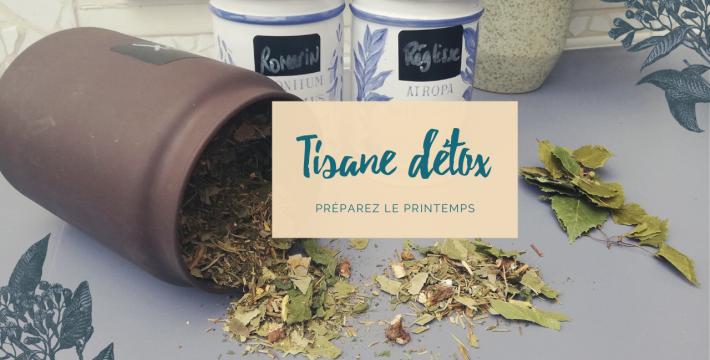 Tisane detox : être en forme pour le printemps